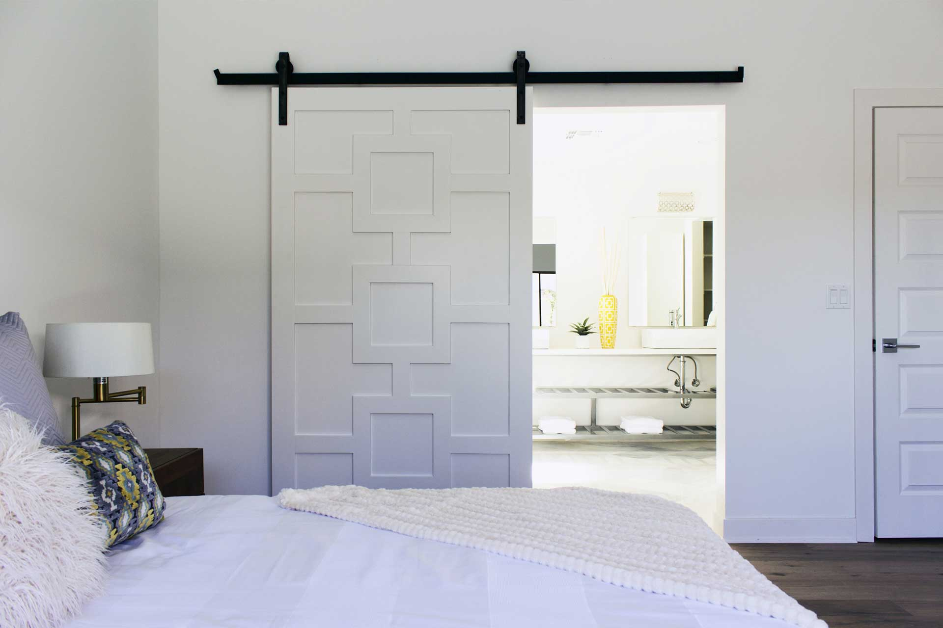 Master Bedroom – Barn Door