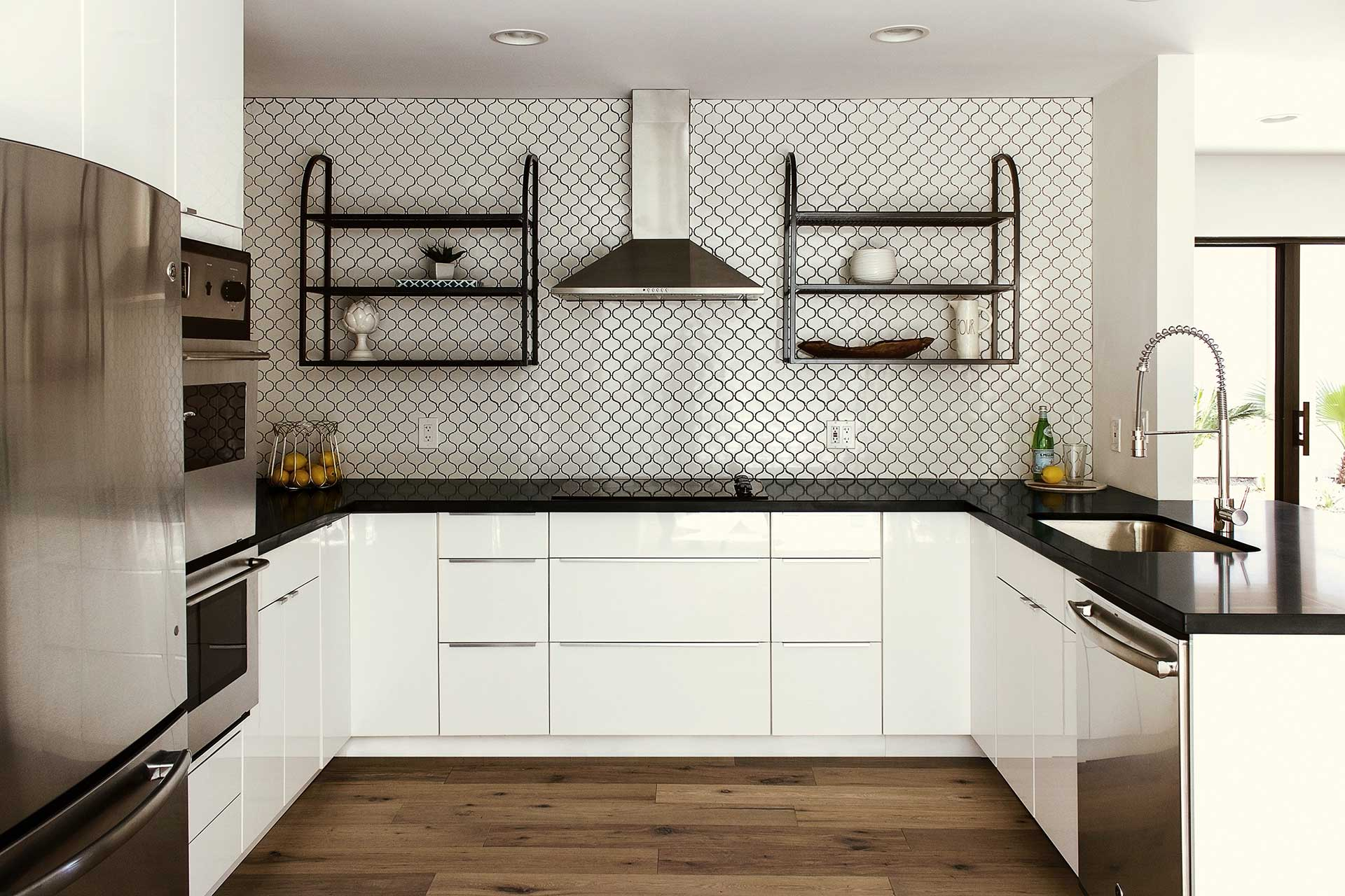 Marlette Avenue – Kitchen Shelves, Backsplash
